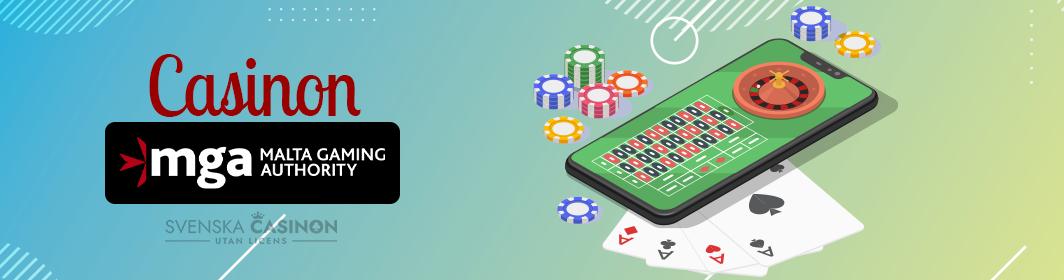 Casinon med MGA licens