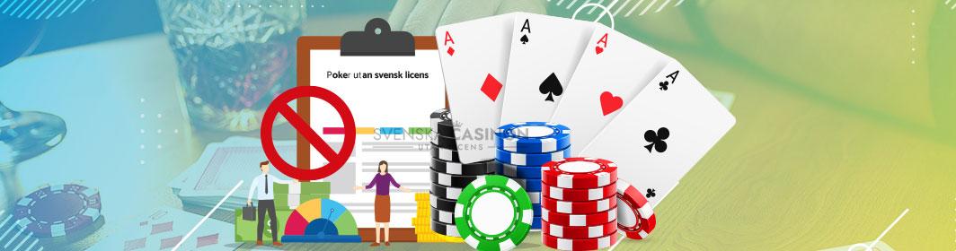 Poker utan licens