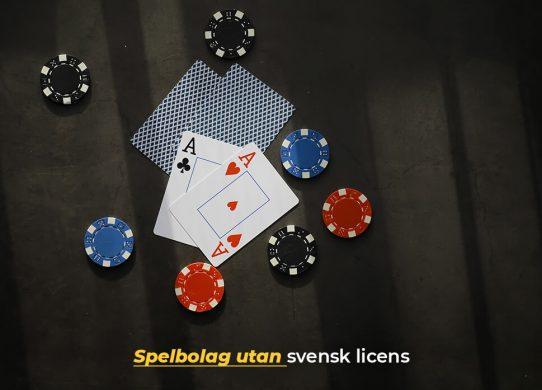 Så spelar vi på spelbolag utan svensk licens