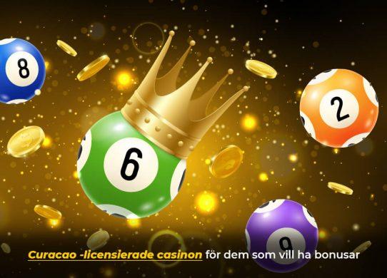 curacao casino och bonusar banner